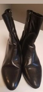 Circa Joan & David Black wedge boot sz 8